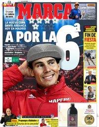 capa Jornal Marca de 18 novembro 2019