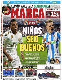 capa Jornal Marca de 23 novembro 2019