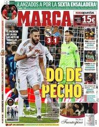 capa Jornal Marca de 24 novembro 2019