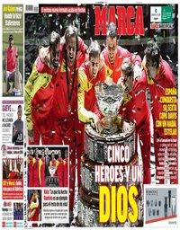 capa Jornal Marca de 25 novembro 2019