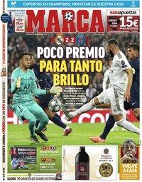 capa Jornal Marca de 27 novembro 2019