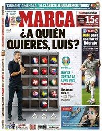 capa Jornal Marca de 30 novembro 2019