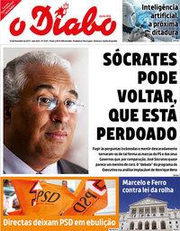 capa Jornal O Diabo de 15 novembro 2019