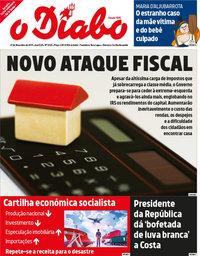 capa Jornal O Diabo de 22 novembro 2019