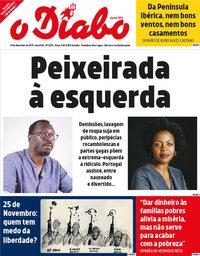 capa Jornal O Diabo de 29 novembro 2019