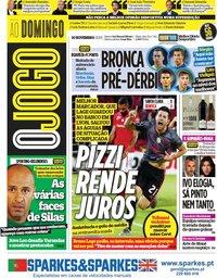capa Jornal O Jogo de 10 novembro 2019