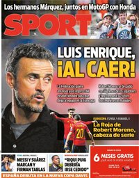 capa Jornal Sport
