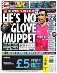 capa Jornal Star Sport de 9 novembro 2019