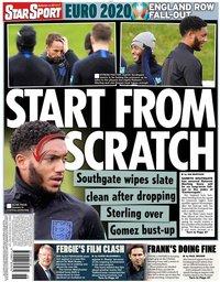 capa Jornal Star Sport de 15 novembro 2019