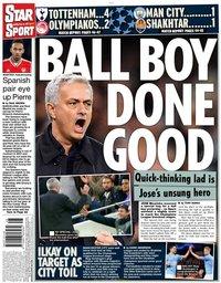 capa Jornal Star Sport de 27 novembro 2019