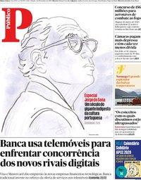 capa Público de 2 novembro 2019