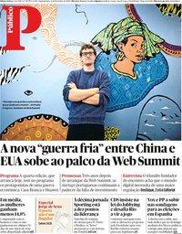 capa Público de 4 novembro 2019