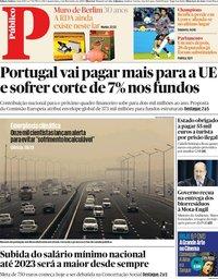 capa Público de 6 novembro 2019