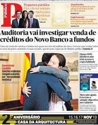 capa Público de 13 novembro 2019