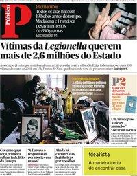 capa Público de 17 novembro 2019
