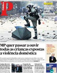 capa Público de 19 novembro 2019