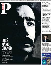 capa Público de 20 novembro 2019