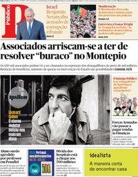 capa Público de 22 novembro 2019