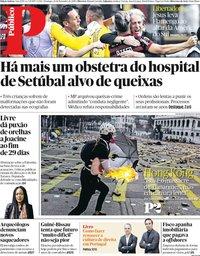 capa Público de 24 novembro 2019