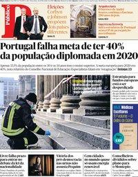capa Público de 26 novembro 2019