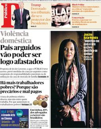 capa Público de 27 novembro 2019