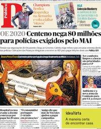 capa Público de 28 novembro 2019