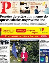 capa Público de 30 novembro 2019