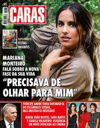 capa Revista Caras de 21 novembro 2019