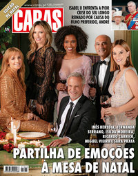 capa Revista Caras de 28 novembro 2019