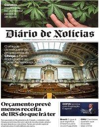 capa Diário de Notícias de 16 dezembro 2019
