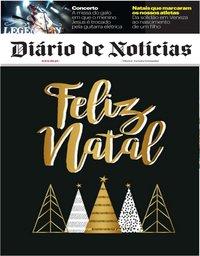 capa Diário de Notícias de 25 dezembro 2019