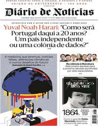 capa Diário de Notícias de 28 dezembro 2019