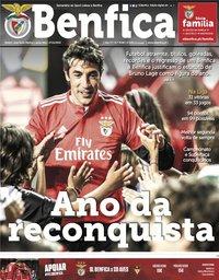 capa Jornal Benfica de 27 dezembro 2019