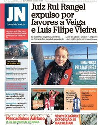 capa Jornal de Notícias de 4 dezembro 2019