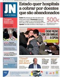 capa Jornal de Notícias de 18 dezembro 2019