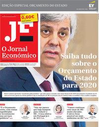 capa Jornal Económico de 18 dezembro 2019