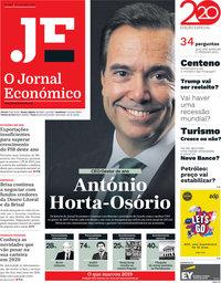 capa Jornal Económico de 27 dezembro 2019