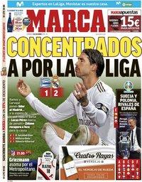 capa Jornal Marca de 1 dezembro 2019