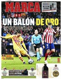 capa Jornal Marca de 2 dezembro 2019