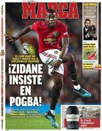 capa Jornal Marca de 4 dezembro 2019