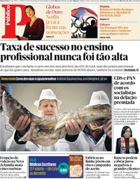 capa Público de 10 dezembro 2019