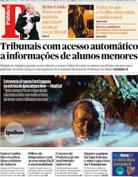 capa Público de 13 dezembro 2019