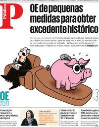 capa Público de 17 dezembro 2019