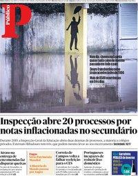 capa Público de 21 dezembro 2019