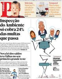 capa Público de 23 dezembro 2019
