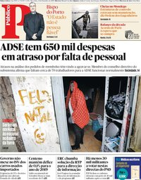 capa Público de 24 dezembro 2019