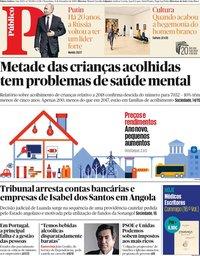 capa Público de 31 dezembro 2019