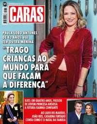 capa Revista Caras de 19 dezembro 2019