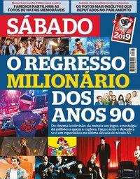 capa Revista Sábado de 26 dezembro 2019
