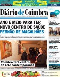 capa Diário de Coimbra